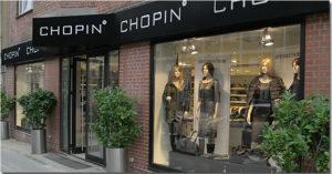 Chopin Charlottenlund dametøj